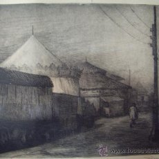 Arte: GRABADO AL AGUAFUERTE-FIRMADO ROSELLO 54. Lote 30640579