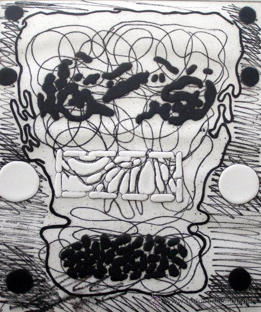 GORDILLO, LUIS (1934-). MAGNIFICO GRABADO. FIRMADO. NUMERADO (71/75). (Arte - Grabados - Contemporáneos siglo XX)