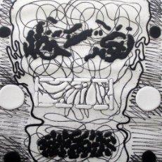 Arte: GORDILLO, LUIS (1934-). MAGNIFICO GRABADO. FIRMADO. NUMERADO (71/75).. Lote 30749001