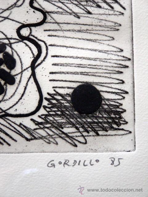Arte: GORDILLO, LUIS (1934-). MAGNIFICO GRABADO. FIRMADO. NUMERADO (71/75). - Foto 2 - 30749001