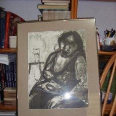 Arte: GRABADO AL AGUAFUERTE DE MARIA CARBONERO PALMA DE MALLORCA ARTISTA DEL AÑO. Lote 30782578