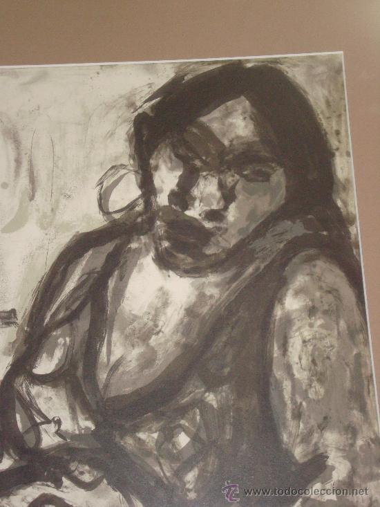 Arte: GRABADO AL AGUAFUERTE DE MARIA CARBONERO PALMA DE MALLORCA ARTISTA DEL AÑO - Foto 2 - 30782578