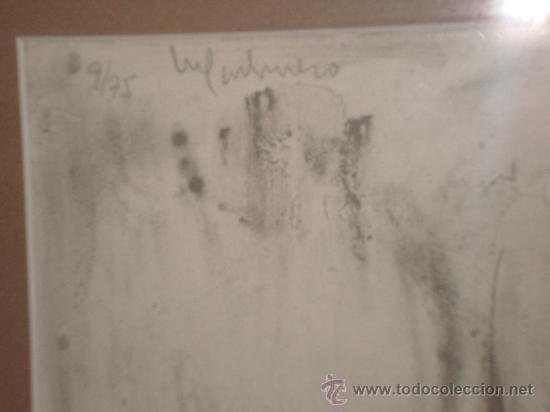 Arte: GRABADO AL AGUAFUERTE DE MARIA CARBONERO PALMA DE MALLORCA ARTISTA DEL AÑO - Foto 3 - 30782578