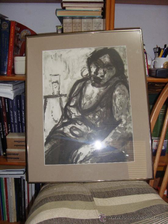 Arte: GRABADO AL AGUAFUERTE DE MARIA CARBONERO PALMA DE MALLORCA ARTISTA DEL AÑO - Foto 4 - 30782578