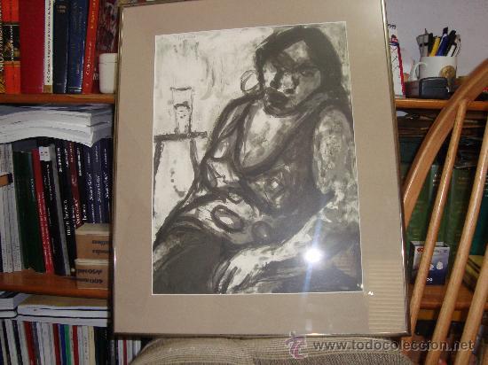 Arte: GRABADO AL AGUAFUERTE DE MARIA CARBONERO PALMA DE MALLORCA ARTISTA DEL AÑO - Foto 5 - 30782578