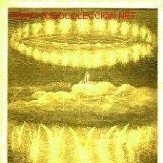 Arte: GUSTAVE DORE: GRABADO DE 1872- ESCENA N° 4 DEL PARAISO. Lote 31089367