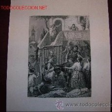 Arte: CERVANTES. DON QUIJOTE Y SANCHO.S.XIX. Lote 31104555