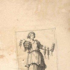 Arte: GRABADO FRANCES CALLIOPE, SIGLO XVI O XVII REPRESENTANDO UNA DE LAS MUSAS DEL ARTE. Lote 31186616