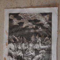 Arte: GIACOBUS PECINI JACOBUS PECINI GRABADO ORIGINAL DEL S. XVII. Lote 31314099