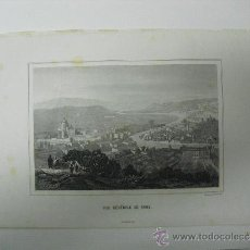 Arte: 1879 GRABADO AL ACERO VISTA GENERAL DE ROMA ROUARGUE FRERES. Lote 31330457