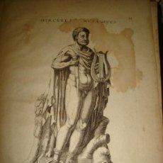 Arte: GRABADO DE HERCULES MUSAGETES. AÑO 1727. 42 X 30CM. Nº 31. Lote 31571808