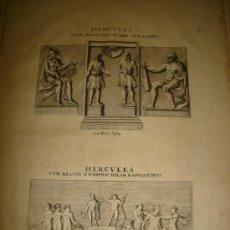 Arte: GRABADO DE HERCULES CUM MERCURIO & DIIS PENATIBUS. AÑO 1727. 42 X 30CM. Nº 26. Lote 31571825