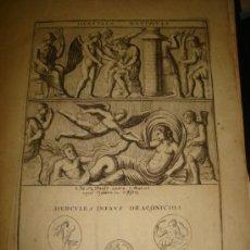 Arte: GRABADO DE HERCULES NATIVITAS. AÑO 1727. 42 X 30CM. Nº 3. Lote 31571867