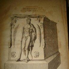 Arte: GRABADO DE HERCULES SANCTISSIMUS. AÑO 1727. 42 X 30CM. Nº 33. Lote 31571872