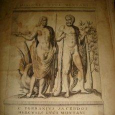 Arte: GRABADO DE HERCULES LUCI MONTANI. AÑO 1727. 42 X 30CM. Nº 38. Lote 31572649