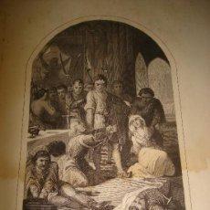 Arte: GRABADO DE LA JAQUERIA. EDITOR JUAN OLIVERES, BARCELONA . Lote 31573056