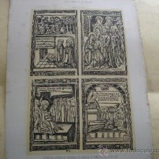 Arte: ESTAMPAS ESPAÑOLAS GRABADAS EN MADERA DE PRINCIPIOS DEL SIGLO XVI - MUSEO ESPAÑOL DE ANTIGUEDADES . Lote 31710854
