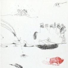 Arte: EDUARDO ARROYO BRUNO BRUNI DINO BOSCHI NUMERADO XI/XV FIRMADO A LÁPIZ COA S/ PAPEL ARTESANO MAGNANI. Lote 31949192