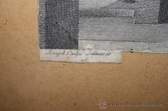 Arte: J3-002. PRECIOSO GRABADO ITALIANO DEL S.XVIII POR GIOVANNI VOLPATO. DISPUTA DEL SACRAMENTO - Foto 13 - 32212725