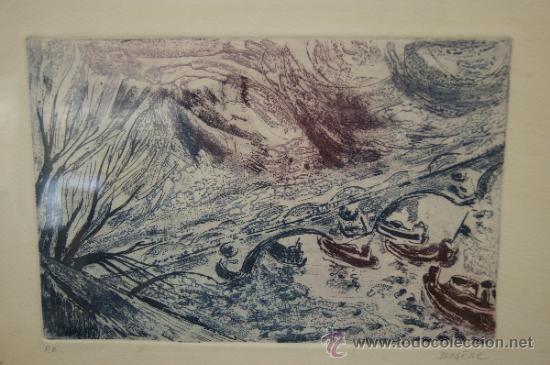 Arte: Diogene. Grabada firmado y marcado PA. - Foto 2 - 32605684