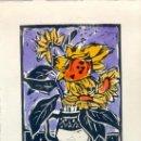 Arte: TERESA LLÁCER. PINTORA, DIBUJANTE Y GRABADORA NACIDA EN MONTROIG DEL CAMP (TARRAGONA) EN 1932. Lote 32473901