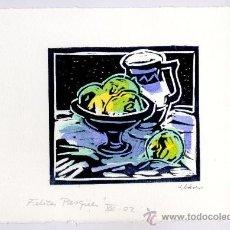 Arte: TERESA LLÁCER PELLICER. PINTORA, DIBUJANTE Y GRABADORA NACIDA EN MONTROIG DEL CAMP (TARRAGONA) EN 19. Lote 32482777