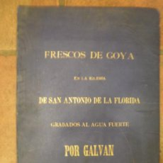 Arte: GRABADOS DE GOYA. Lote 32500848