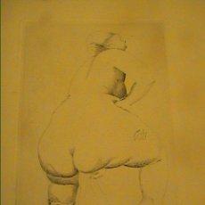 Arte: GRABADO AL AGUAFUERTE. ESCENA ERÓTICA. HACIA 1915.PAISES BAJOS. DESCONOZCO AUTOR.. Lote 32682553