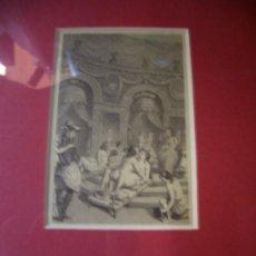 Arte: CONJUNTO DE TRES GRABADOS EROTICOS 1725. Lote 32728371