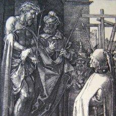 Arte: DURERO, A. (1471-1528). ECCEHOMO. SIGLO XIX. BARTSCH 10.. Lote 36371080