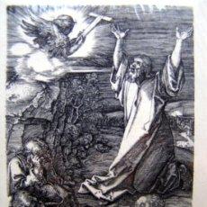 Arte: DURERO, A. (1471-1528). CRISTO-CICLO PASION. SIGLO XIX. BARTSCH 4.. Lote 36371096