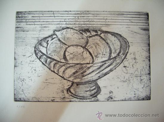 ANTONIO CASTILLO MELER GRABADO (Arte - Grabados - Contemporáneos siglo XX)