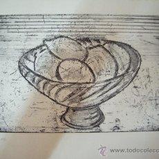 Arte: ANTONIO CASTILLO MELER GRABADO. Lote 33290723
