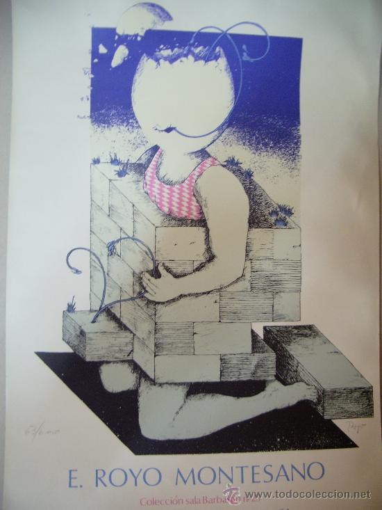 ROYO MONTESANO GRABADO (Arte - Grabados - Contemporáneos siglo XX)