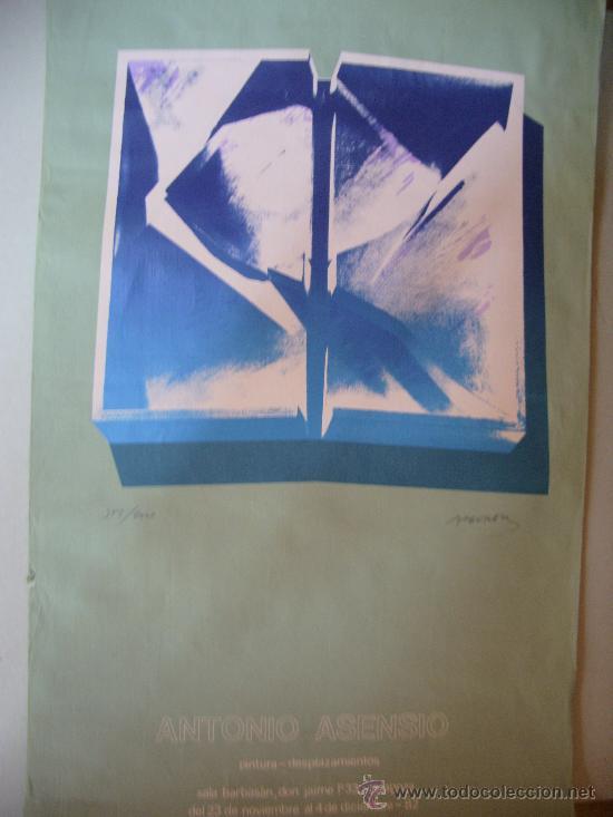 ANTONIO ASENSIO GRABADO (Arte - Grabados - Contemporáneos siglo XX)