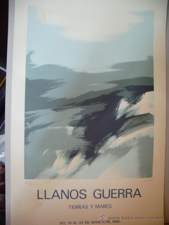 LLANOS GUERRA GRABADO (Arte - Grabados - Contemporáneos siglo XX)