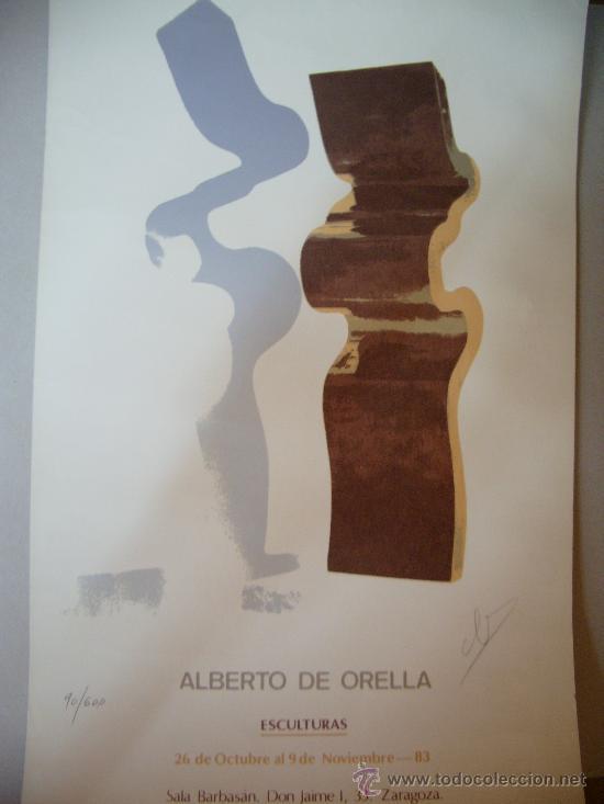 ALBERTO DE ORELLA GRABADO (Arte - Grabados - Contemporáneos siglo XX)