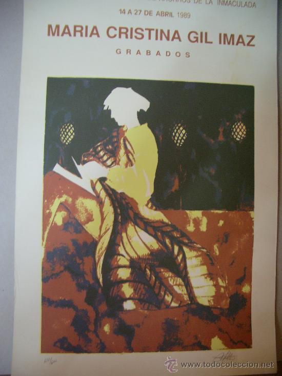 MARIA CRISTINA GIL IMAZ GRABADO (Arte - Grabados - Contemporáneos siglo XX)