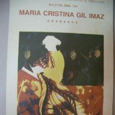 Arte: MARIA CRISTINA GIL IMAZ GRABADO. Lote 33291138