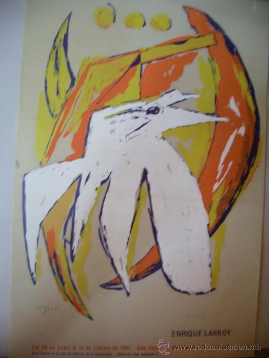ENRIQUE LARROY GRABADO (Arte - Grabados - Contemporáneos siglo XX)