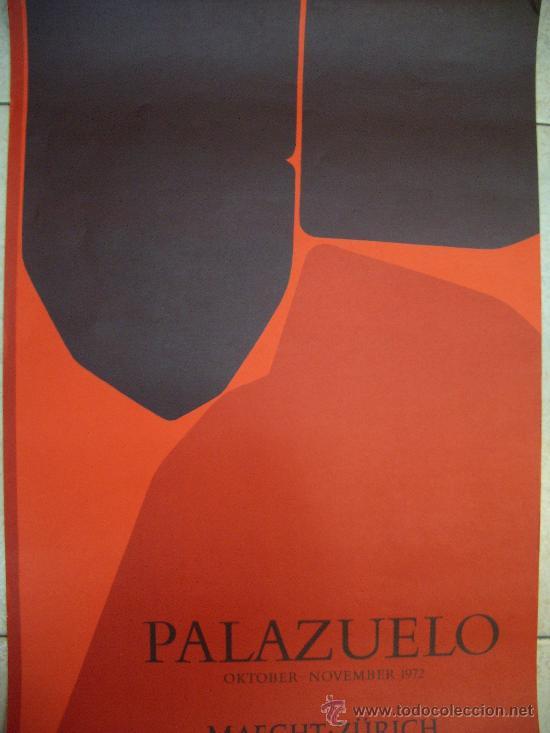 PABLO PALAZUELO GRABADO GALERIA MAEGHT (Arte - Grabados - Contemporáneos siglo XX)