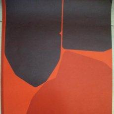 Arte: PABLO PALAZUELO GRABADO GALERIA MAEGHT. Lote 33298061