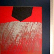Arte: MANUEL TRALLERO GOROSTOLA. GRABADO. PRUEVA DE ARTISTA. CALIDSAD. TINTAPLATEADA.. Lote 33842105