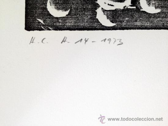 Arte: HARTUNG, H (1904-1989). XILOGRAFIA. RIVES. NUMERADA Y FIRMADA. 1973. H14 - Foto 2 - 33769063