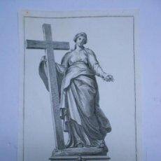Arte: GRABADO SIGLO XVIII PAPA PIO SEXTO. GRABADO DE BOMBELLI 1781 DISEÑO DE COMUCCINI.31 X 48 CMS.. Lote 33807141