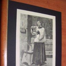 Arte: GRABADO 1883 - EL SACRISTAN - ENRIQUE SERRA, ILUSTRADOR. Lote 33828576