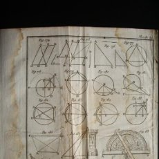 Arte: 1767-GRABADO. MATEMÁTICAS.ÁLGEBRA.GEOMETRÍA.PARÍS.ORIGINAL. Lote 34002803