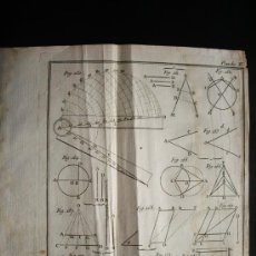 Arte: 1767-GRABADO. MATEMÁTICAS.ÁLGEBRA.GEOMETRÍA.PARÍS.ORIGINAL. Lote 34002810