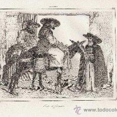 Arte: GRABADO: FRATI DI GRANATA. FRAILES DE GRANADA.. SIGLO XIX. Lote 34498940