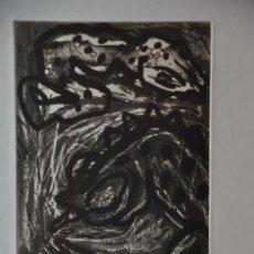 Arte: CLAUS BOJESEN GRABADO ORIGINAL FIRMADO Y NUMERADO ARTISTA DANES. Lote 34625559